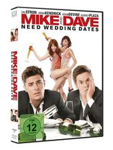 Mike and Dave Need Wedding Dates, 1 DVD