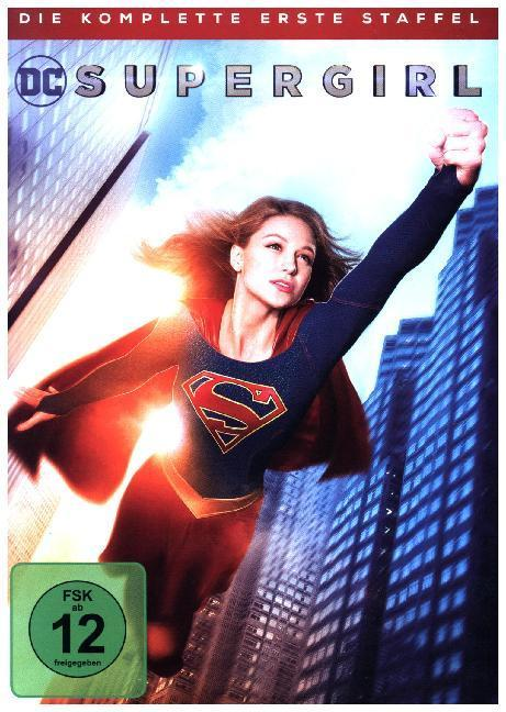 Supergirl. Staffel.1, 5 DVDs