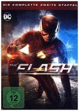 The Flash. Staffel.2, 6 DVDs