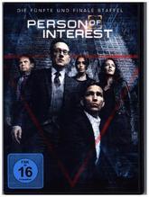 Person of Interest. Staffel.5, 3 DVDs