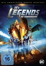 DC's Legends of Tomorrow. Staffel.1, 4 DVDs