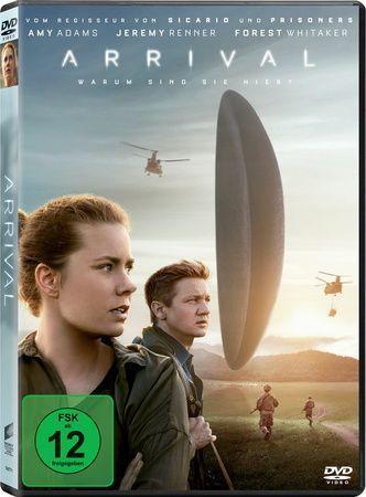 Arrival, 1 DVD