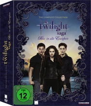Die Twilight-Saga The Complete Collection, 11 DVDs