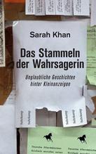 Das Stammeln der Wahrsagerin | Khan, Sarah