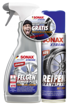 Sonax Xtreme Felgenreiniger und Reifenglanz