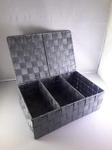 Aufbewahrugs-Box mit 3 Fächern