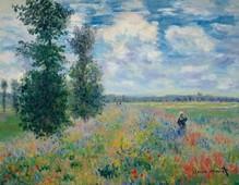 Claude Monet Les Coquelicots 90 x 70 cm