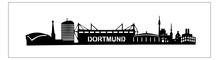 Dortmund Panorama mit Beleuchtung