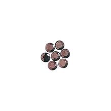 Glas-Strasssteine, zum Aufbügeln, 3 mm ø, 45 Stück, lila