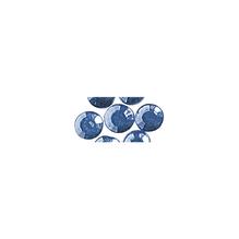 Glas-Strasssteine, zum Aufbügeln, 5 mm ø, SB-Btl. 45 St., h.blau