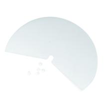 Lampenschirm, rund, 192x135 mm, SB-Btl. 5 Stück mit 10 Fixierbuttons
