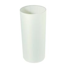 Lampenschirm, rund, 13,5 cm ø, Höhe 30 cm, weiß