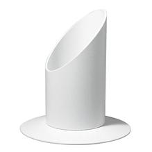 Kerzenhalter, 30 mm ø, für Tauf- und Kommunionkerzen, weiß