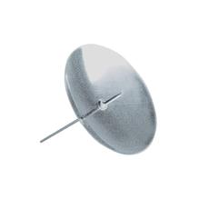 Messing-Kerzenhalter, zum Stecken, SB-Btl. 4 Stück, silber, 60 mm ø