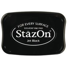 Stempelkissen StazOn , schwarz