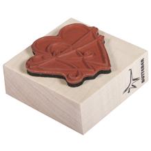 H.- Stempel In Liebe verbunden, 5x5cm, Art. 27841