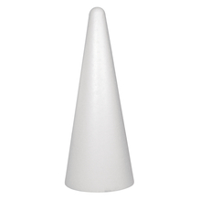 Styropor-Kegel, ø 20 cm, Höhe 50 cm