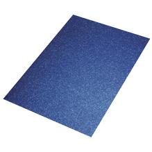 Crepla Platte Glitter, 30x45x0,2cm, m.blau