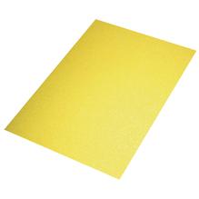 Crepla Platte Glitter, 30x45x0,2cm, gelb