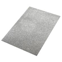 Crepla Platte Glitter, 30x45x0,2cm, silber
