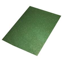 Crepla Platte Glitter, 30x45x0,2cm, grün