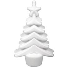 Styropor Weihnachtsbaum, 9x4x14,5cm