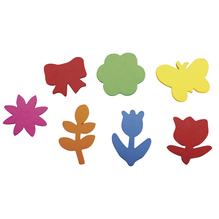Crepla Stanzteile Frühlingserwachen, 2,1-3,4cm,selbstklebend, SB-Btl 100Stück, bunt