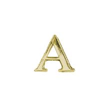 Wachsmotiv: Alpha + Omega, 2,5cm, SB-Btl 2Stück, gold