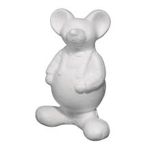 Styropor-Maus, 21 cm