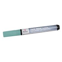 Textil-Marker deckend, Rundspitze 2-4 mm, mit Ventil, babyblau