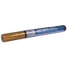 Textil-Marker deckend, Rundspitze 2-4 mm, mit Ventil, gold