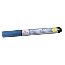 Textil-Marker Glitter deckend, Rundspitze 1-2 mm, mit Ventil, royalblau