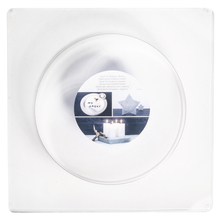 Gießform: Kreis, 18,5cm ø, Tiefe 3,5 cm
