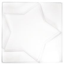 Gießform: Stern groß, 28x28cm, Tiefe 4 cm
