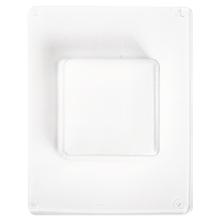Gießform: Quadrat, 6,5x6,5cm, Tiefe 3,5 cm