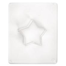 Gießform: Stern, 6cm ø, Tiefe 3,5 cm