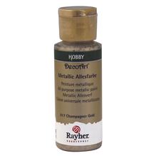 Metallicfarbe, Flasche 59 ml, kaschmir gold
