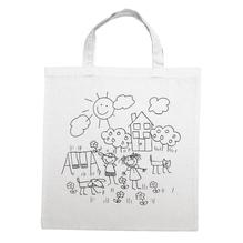 Baumwoll-Tasche, bedruckt, beige, 42x38cm, Spielwiese, Spielwiese