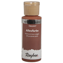 Allesfarbe Gloss, Flasche 59ml, rote erde