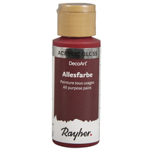 Allesfarbe Gloss, Flasche 59ml, royalrot