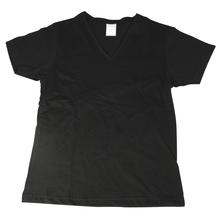 Baumwoll T-Shirt Größe XL, Single-Jersey, 155 g/m2, schwarz