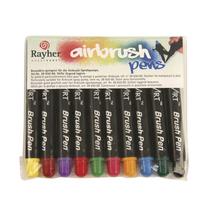 Air Brush Pens, Beutel 10 Farben sortiert, gemischt