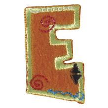 Stoff-Aufbügelbuchstabe, 3 cm,  E