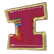 Stoff-Aufbügelbuchstabe, 3 cm,  I