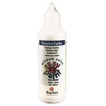 Fensterfarbe easy paint, Flasche 80 ml, weiß