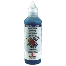 Fensterfarbe easy paint, Flasche 80 ml, türkis
