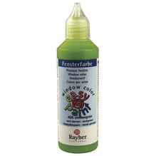 Fensterfarbe easy paint, Flasche 80 ml, immergrün