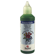 Fensterfarbe easy paint, Flasche 80 ml, palme