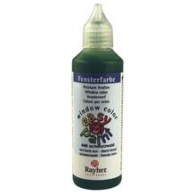 Fensterfarbe easy paint, Flasche 80 ml, schwarzwald