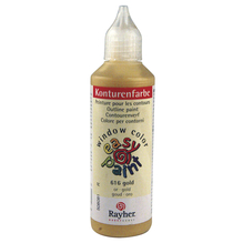 Konturenfarbe easy paint, Flasche 80 ml, gold